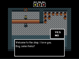 Secret of Qwerty Shop
