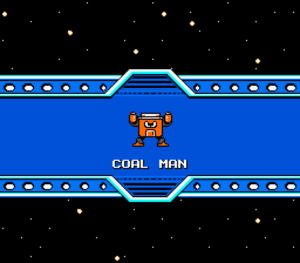 Mega Man SFR Coal