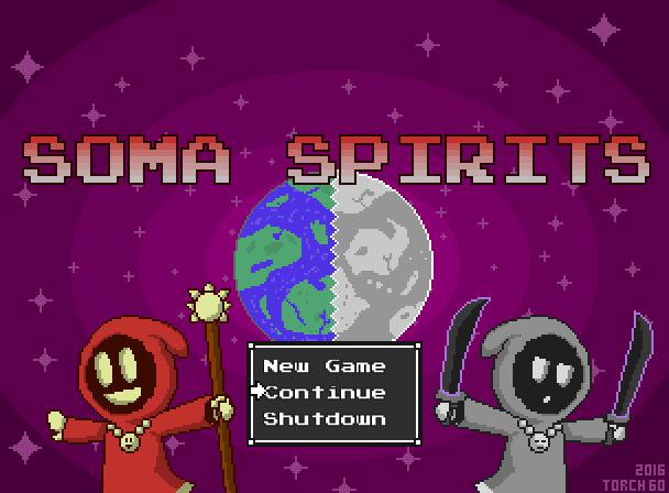 Soma Spirits Title