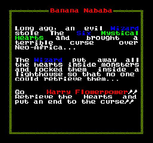Banana Nababa Plot