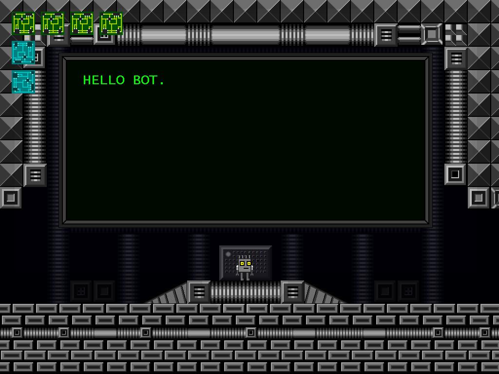 Sand and Rust - Hello Bot