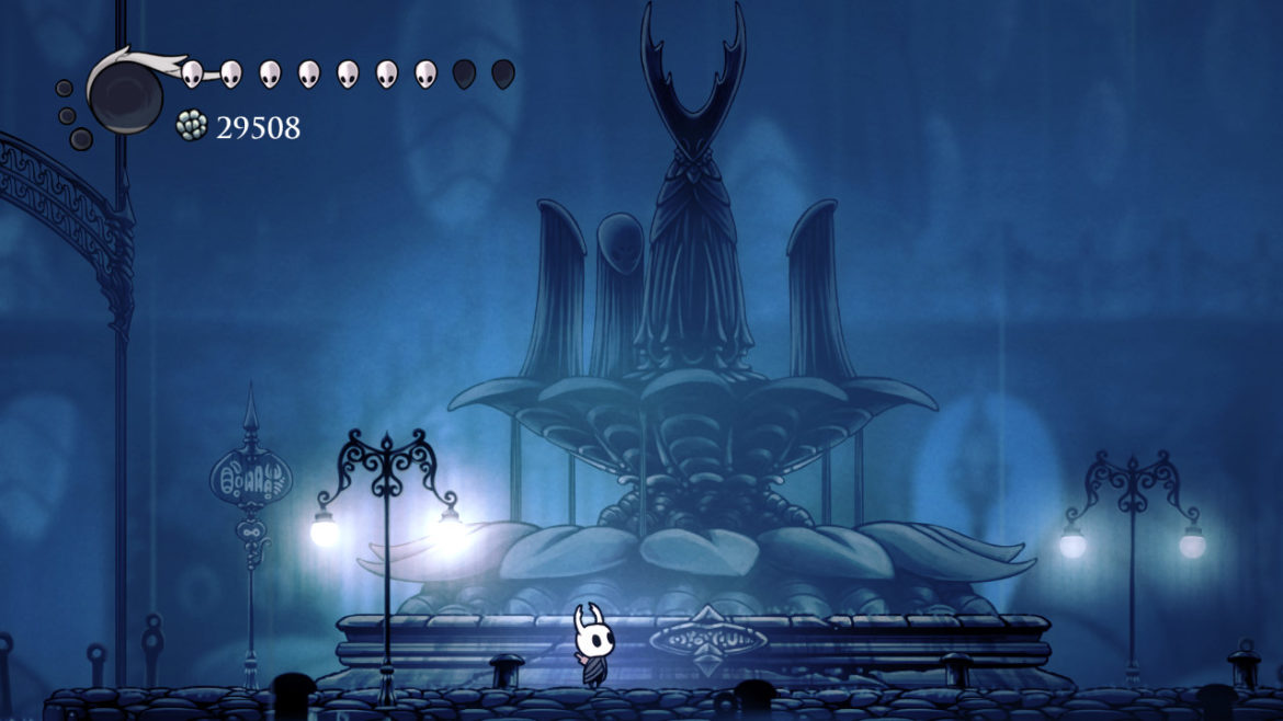 Hollow Knight Fountain