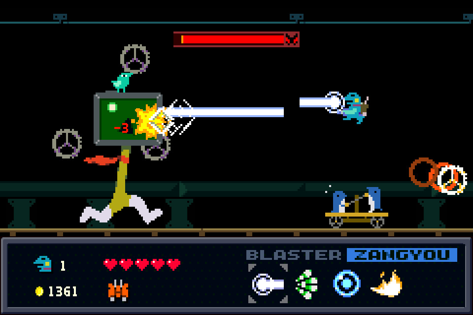 Kero Blaster Bird Boss