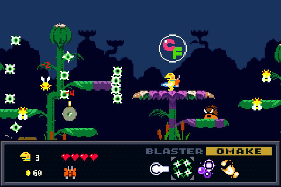 Kero Blaster Bugs