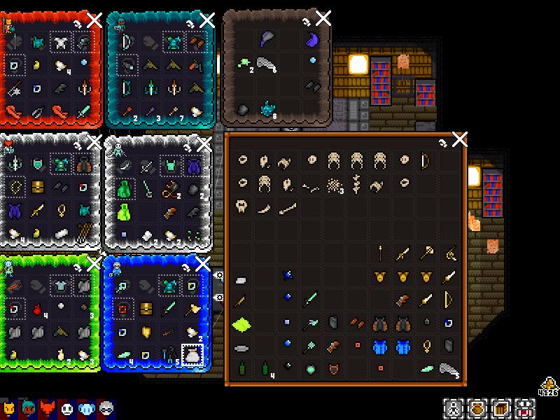 Alvora Tactics Inventory