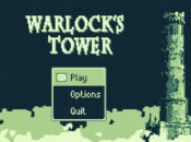 Warlock's Tower Title Screen