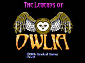Owlia Title Screen