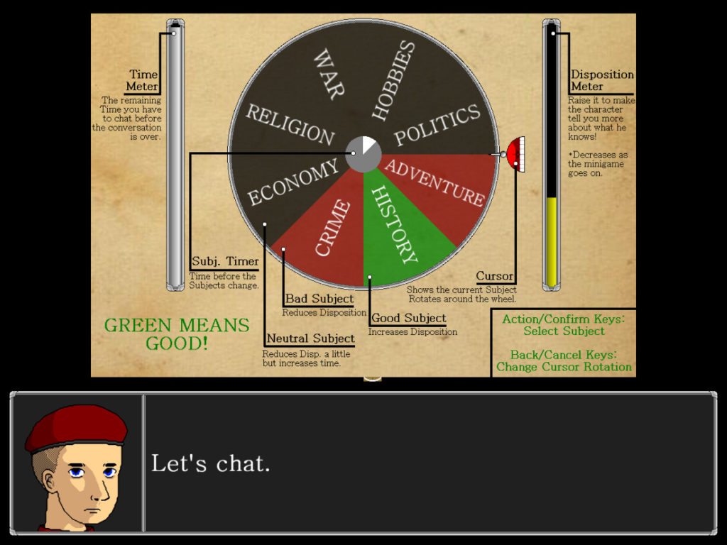 Shattered God Chat Minigame