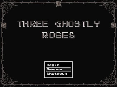 Three Ghostly Roses