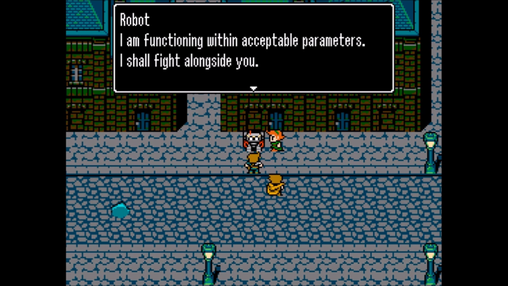 8-Bit Adventures 2 Demo Robot