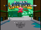 8-Bit Adventures 2 Demo Title