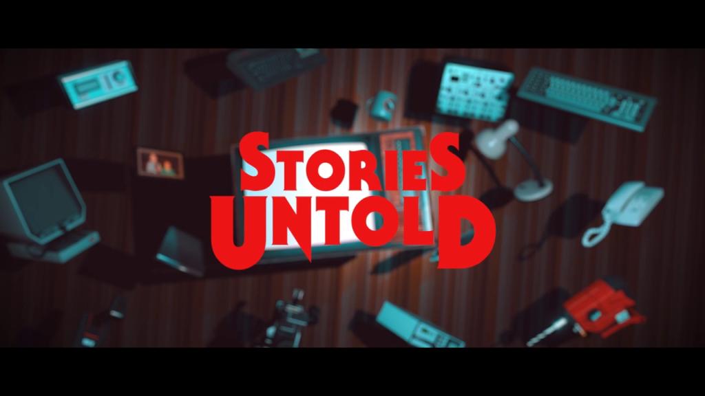 Stories Untold Title Screen